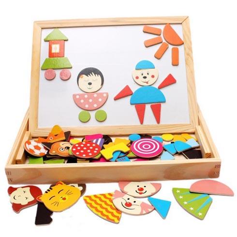 欢乐树儿童益智乐园-小丸子木质磁性玩具