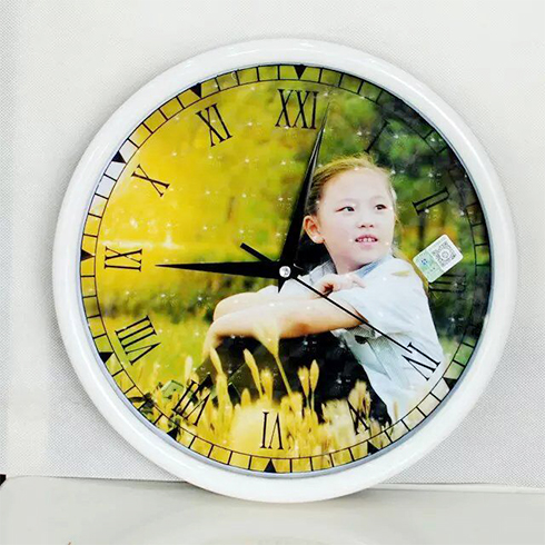 酷乐印时尚标牌印刷-个性钟表