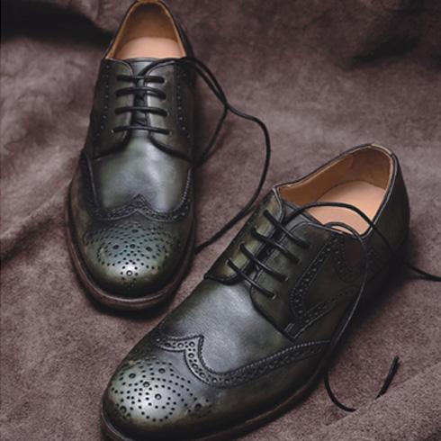 ABA手工皮鞋