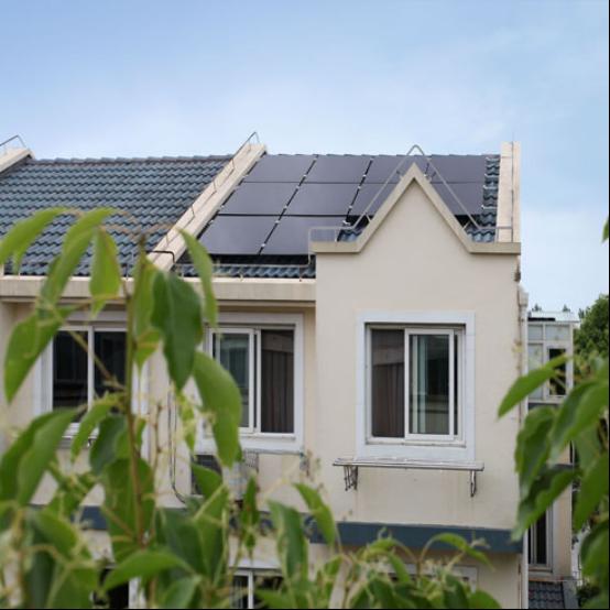 汉能 户用楼房别墅 光伏并网发电系统 旗舰系列 2kw 太阳能电池板