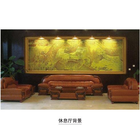 法宝玻璃-休息室背景
