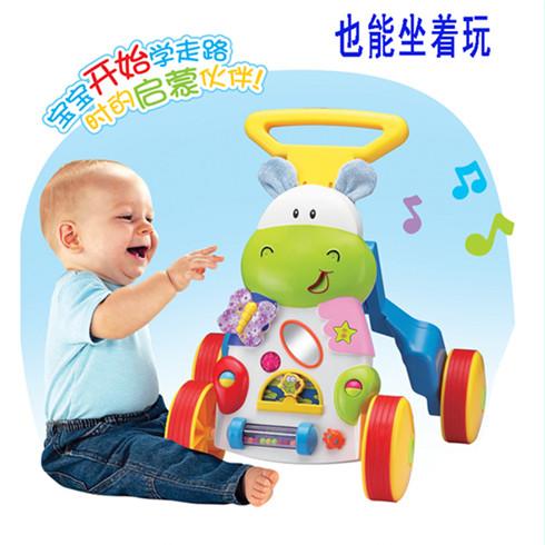 婴儿益智学车