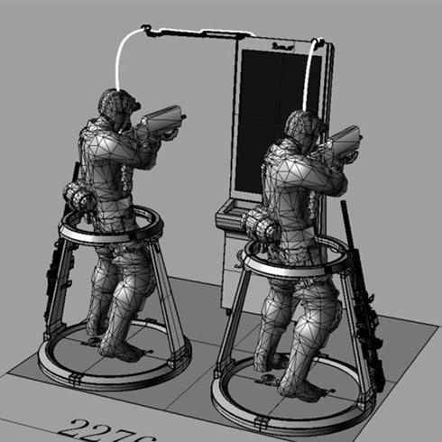 超级队长VR体验馆