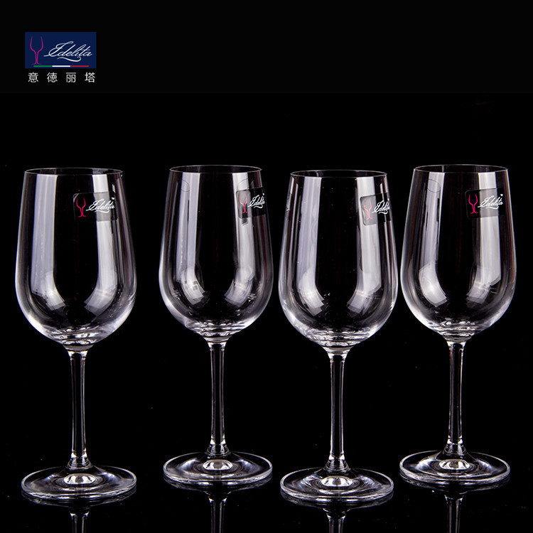 s81cd35 意德丽塔 透明无铅水晶玻璃红酒杯 高脚葡萄酒杯 350ml