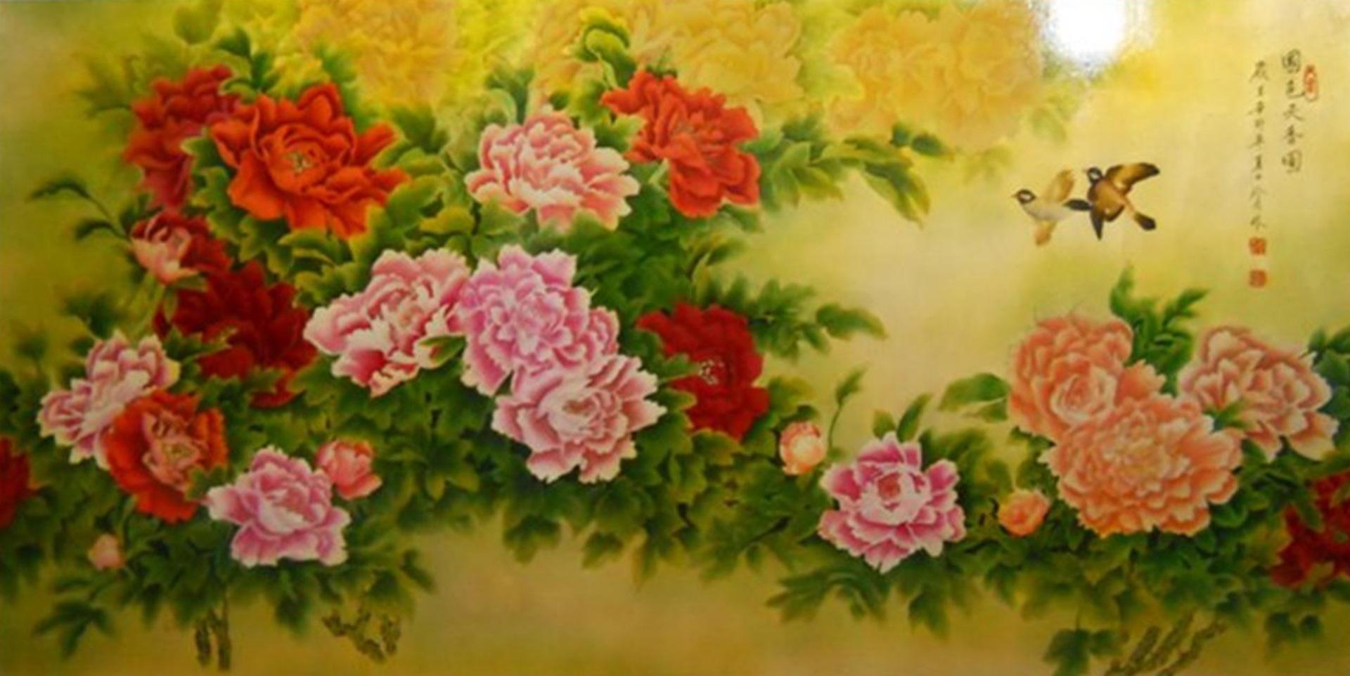 壁画 金箔画 漆画 装饰画