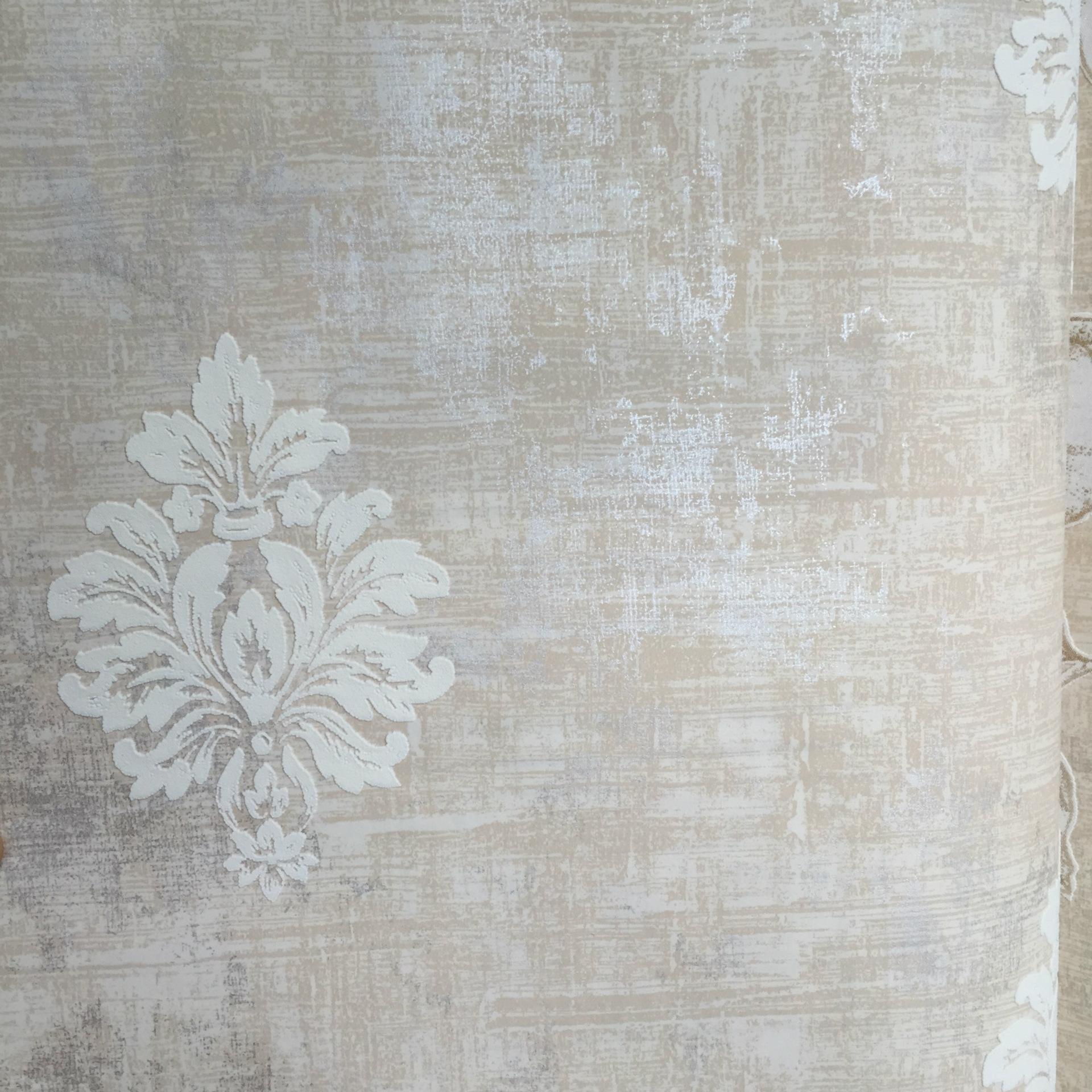 特价新款加厚自贴自粘大马士革壁纸温馨卧室客厅背影欧式浪漫田园