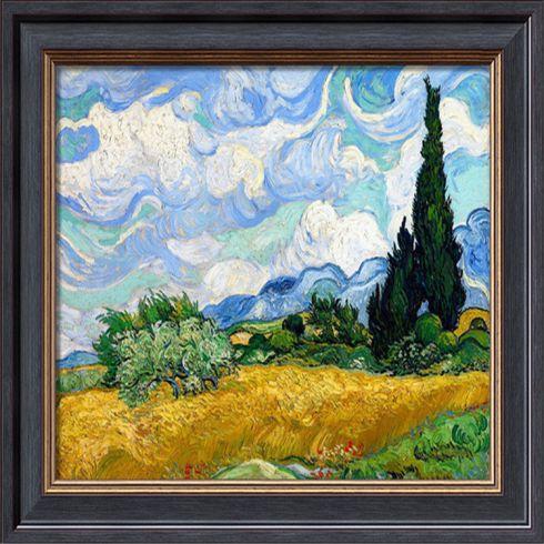 供应装饰画艺术品批发床头油画 玄关油画 手绘唯美风景油画