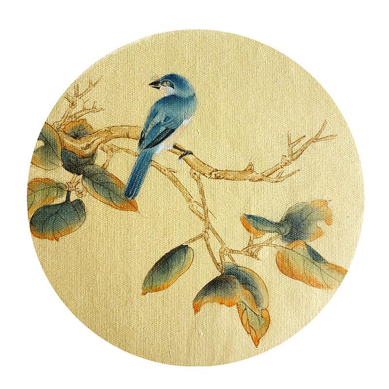 国画 工笔花鸟小品画 工笔小品 精品工笔 手绘国画-尚美手绘画加盟