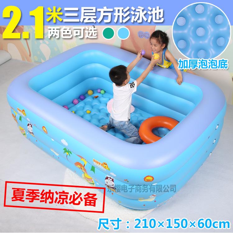 厂家直销盈泰婴儿游泳池海洋球池婴幼儿童宝宝游泳桶成人充气水池