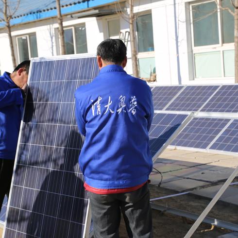 清大奥普太阳能发电-发电板