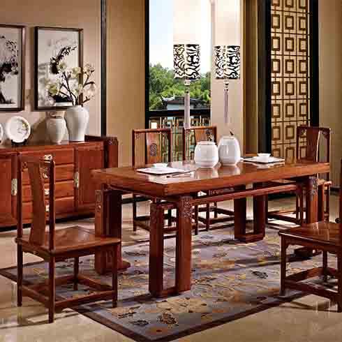 容悦多福茶厅家具