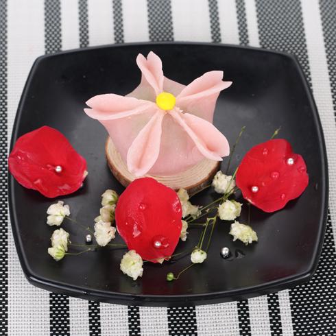 雪乐薇冰淇淋-花之恋和菓子冰淇淋