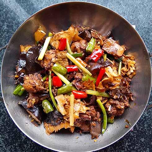 干锅黄焖鸡