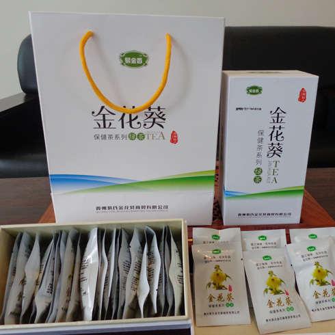 易金香金花葵绿茶组合装