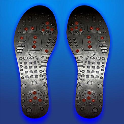 助尔舒砭石鞋垫
