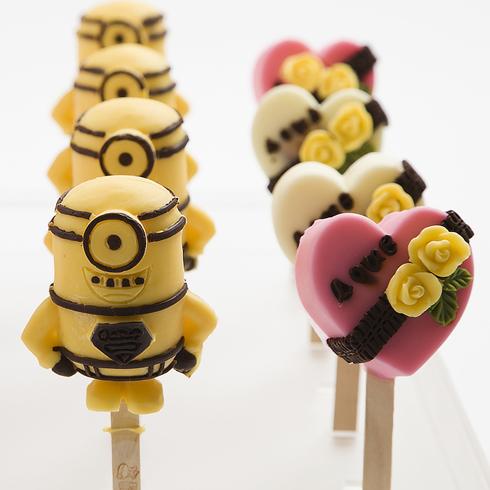 可爱雪3D卡通冰淇淋
