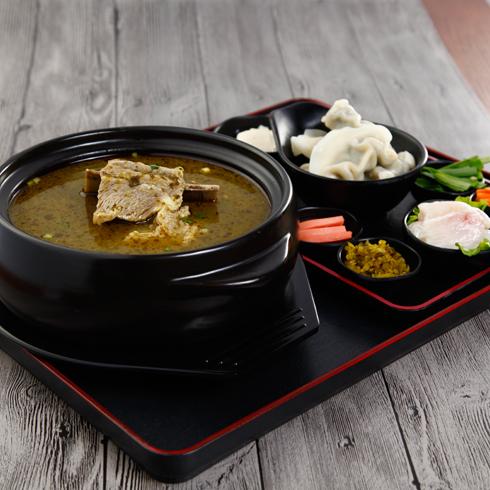 牧汤记酸辣牛骨水饺