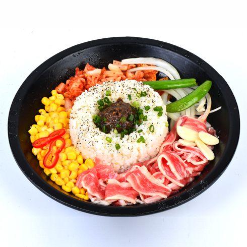 板烧厨房快餐-韩式肥牛烧饭
