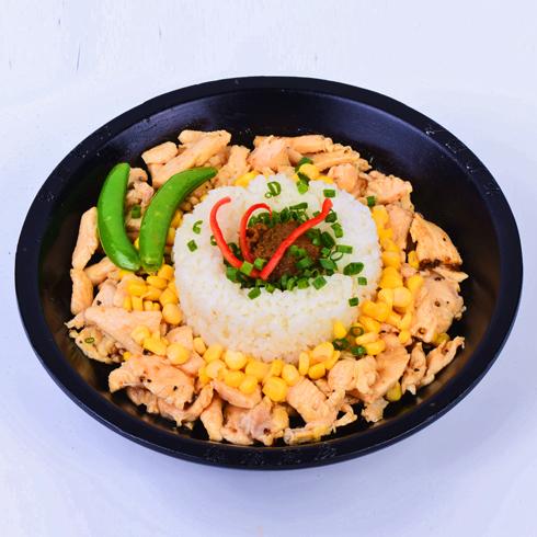 板烧厨房快餐-黑椒鸡肉饭