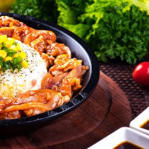 板烧厨房快餐-鸡排烧饭