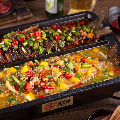 龙潮美式炭火烤鱼-炭火烤鱼