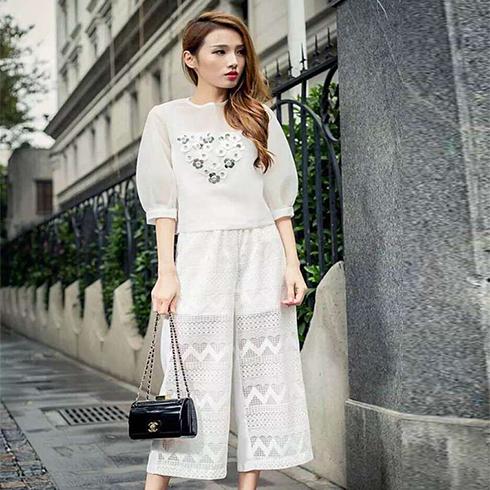 艾丽哲欧韩女装-雪纺套装