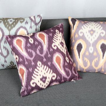 欧式复古典ikea几何布纹理沙发抱枕套中东少数民族
