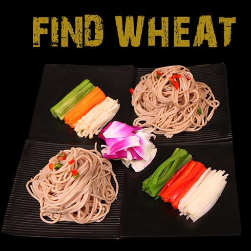 寻麦中式快餐-五彩拌莜面