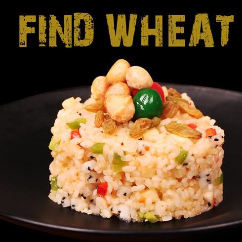 寻麦中式快餐-夏威夷风情饭
