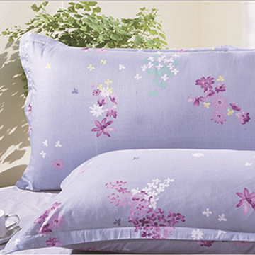 床上用品 单人双人枕套枕芯批发 纯棉活性印花枕套 花型近百种