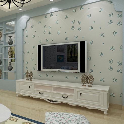 爱丽达贝壳粉生态涂料-电视背景墙墙面