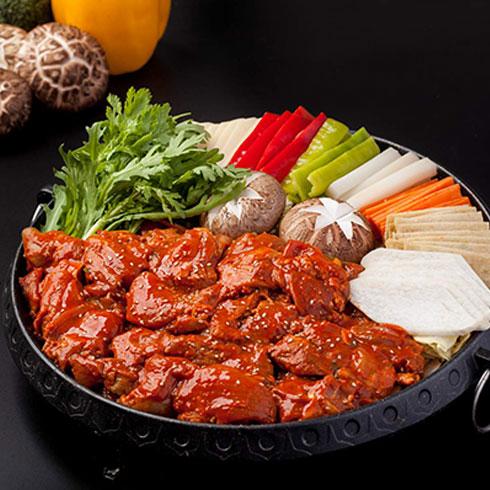 谷喜农韩国料理-韩式拌饭