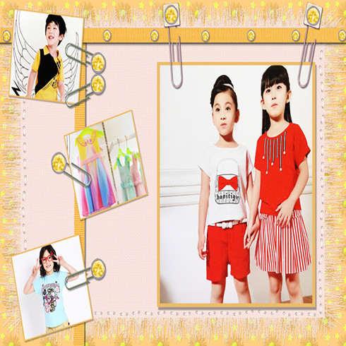 童园童装产品图