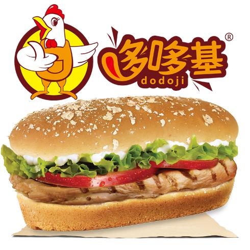 哆哆基八味辣鲜堡