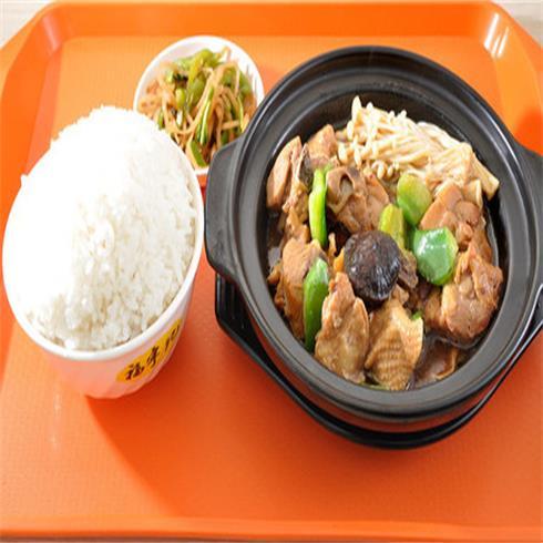 鸡米饭套餐