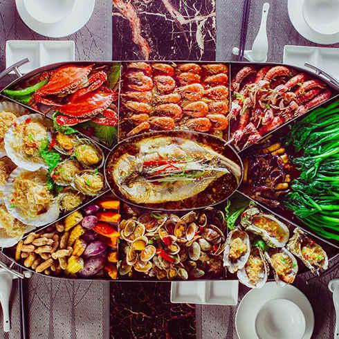 小渔船海鲜大咖 情迷海鲜盛宴