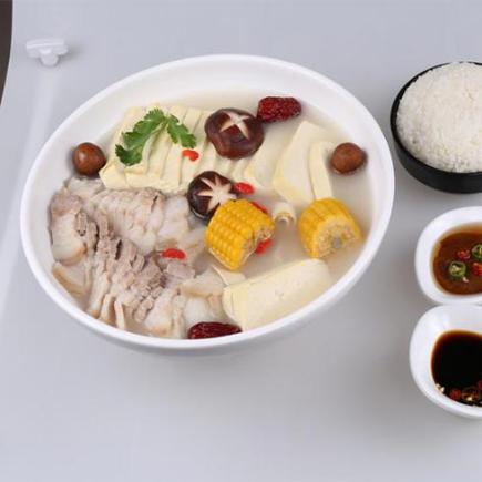 冒蜀黍冒菜-骨汤口味冒菜