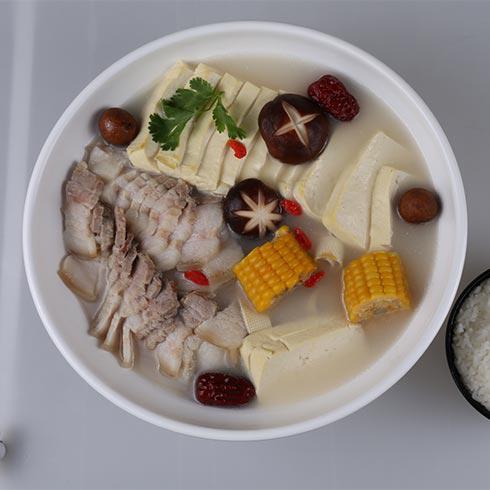 冒蜀黍冒菜-冒菜