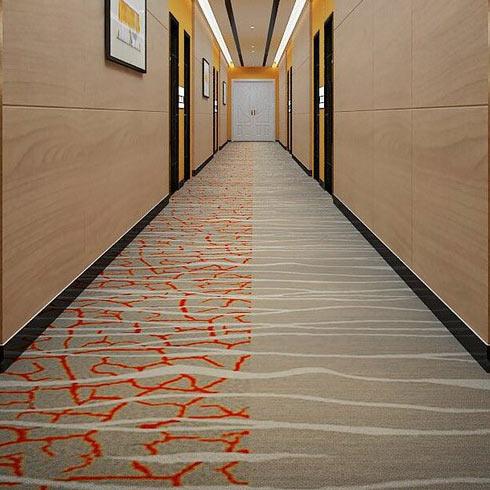 悦思途互联网连锁酒店走廊