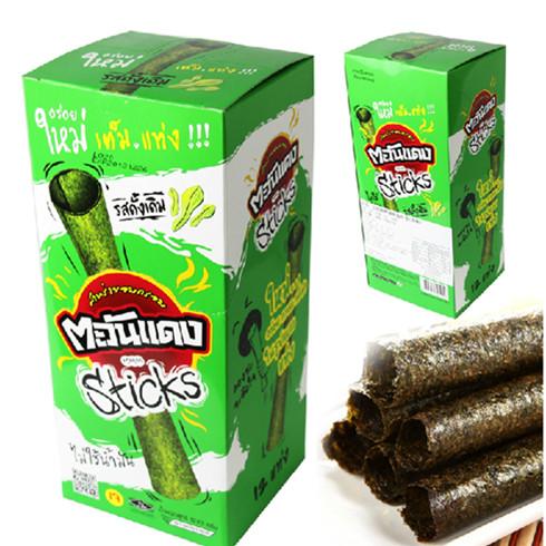 7物语进口食品泰国小浣熊烤海苔