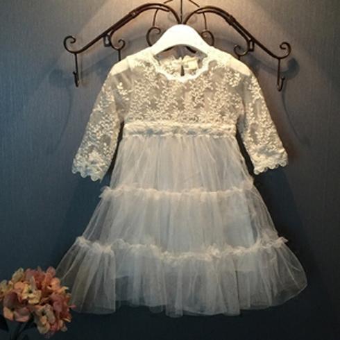 凯缇猫童装-蕾丝公主裙