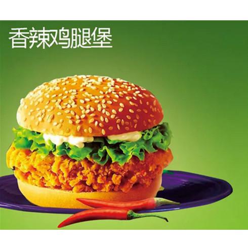 小食快餐车_洛克汉堡香辣鸡腿堡_洛克汉堡-3158招商加盟网