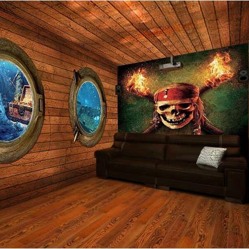 聚时光影海盗船主题