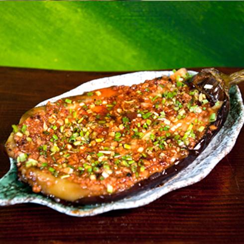 奇鱼夫烤鱼-烤茄子