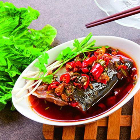 快餐美食剁椒鱼头