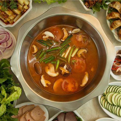 有一招酸汤火锅韩式番茄