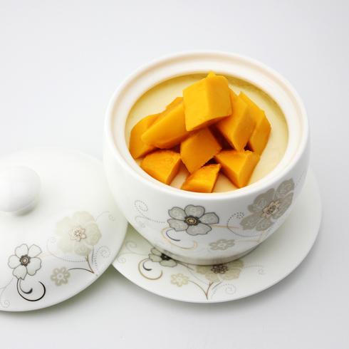 玛丽莲甜品-芒果双皮奶