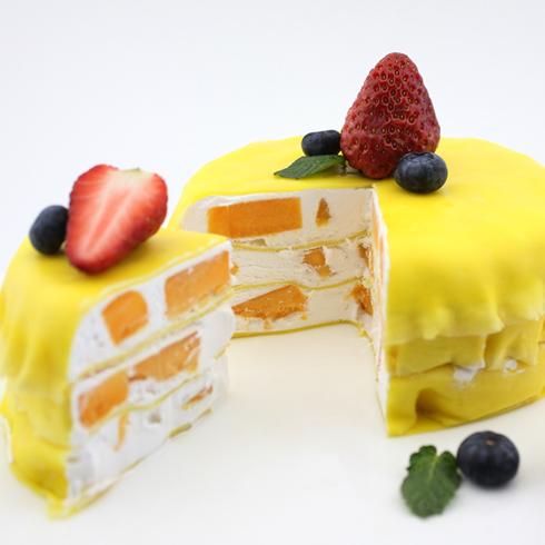玛丽莲甜品-千层芒果蛋糕