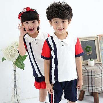 小学生校服女童春装套装8大男童男孩休闲两件套9运动姐弟装10岁12图片