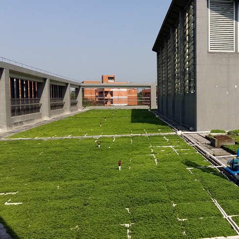 易绿谷屋顶绿化图